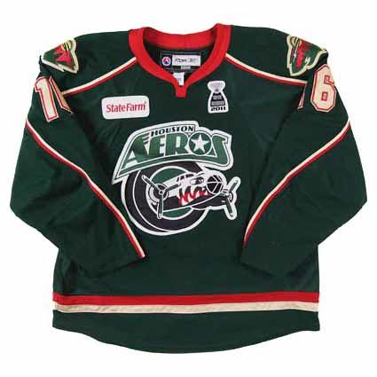 houston Aeros 2010-11 F jersey