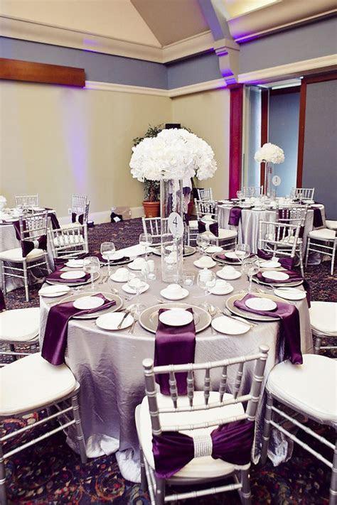 25  best ideas about Plum Wedding Centerpieces on