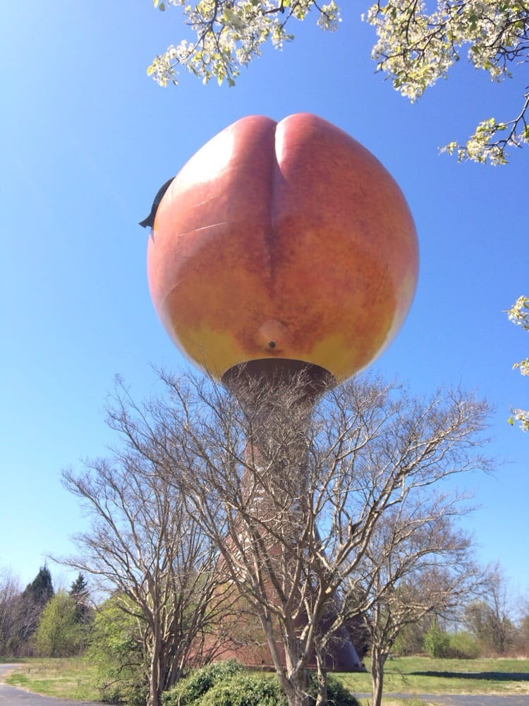 Peachoid Water Tower - Gaffney, SC, United States