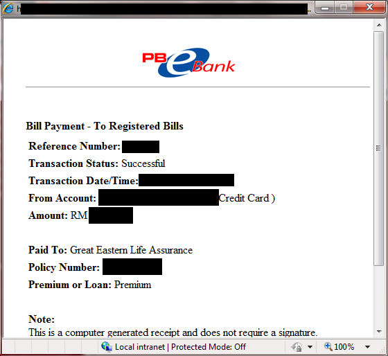 Public Bank can pay Great Eastern Life on Outdated Penang Uncle blogspot dot com
