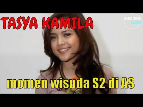 Tasya Kamila Tampil Cantik di Wisuda S2 nya