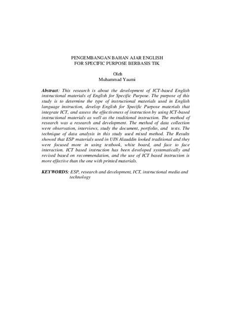 (PDF) Pengembangan Bahan Ajar Berbasis Teknologi Informasi