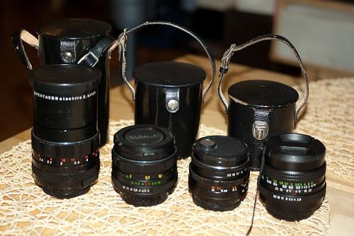 我的 M42 鏡頭
