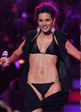 Kara DioGuardi wearing Vix Bikini - American Idol Finale