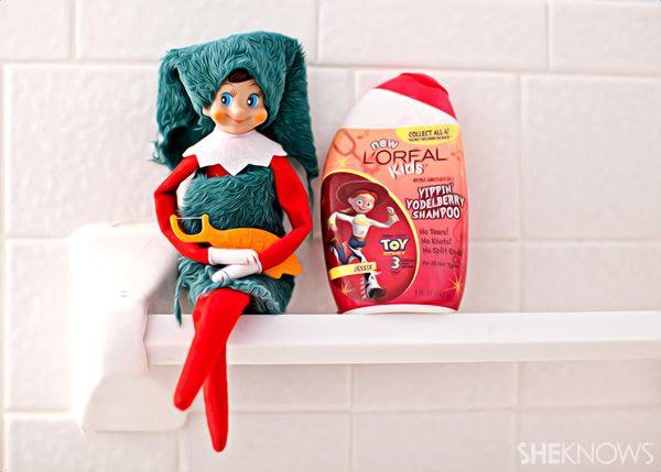 Bath  time Fun Elf  on a Shelf Ideas  Pinterest