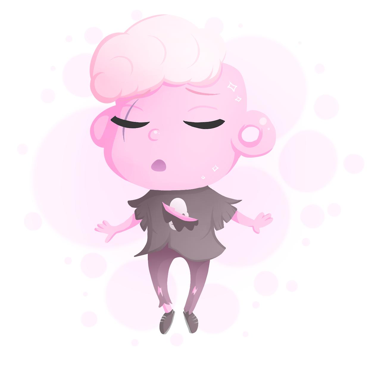 A pink boi