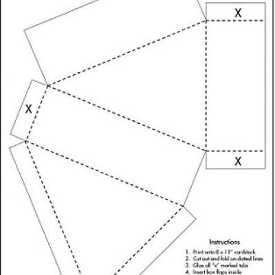 1000+ images about printable box templates on Pinterest | Cake ...