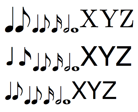 Download 26 FREE MUSIC SYMBOL FONT ILLUSTRATOR PRINTABLE PDF DOCX ...
