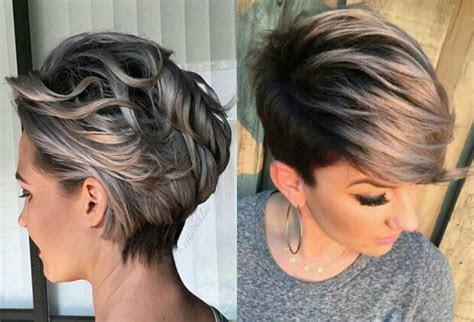 vivacious short pixie haircuts  highlights hairdromecom
