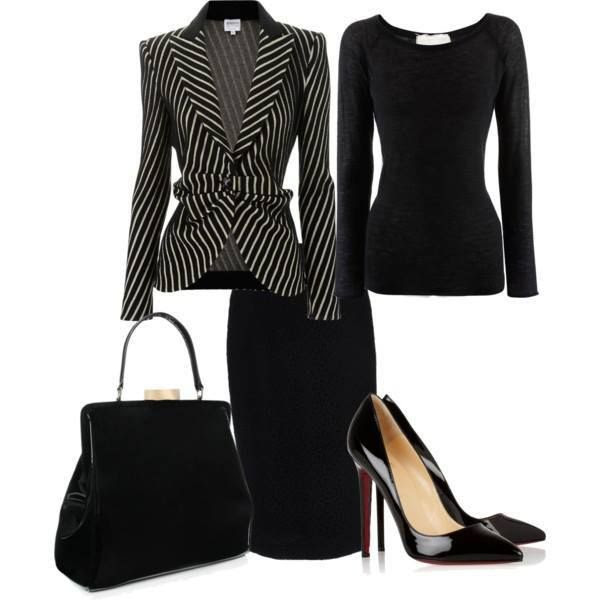 I be on my suit and tie --for ladies Business attire for the office find more women fashion on www.misspool.com