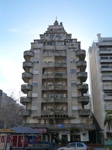 Art Deco Buildings Edificio El M 225 Stil Pocitos