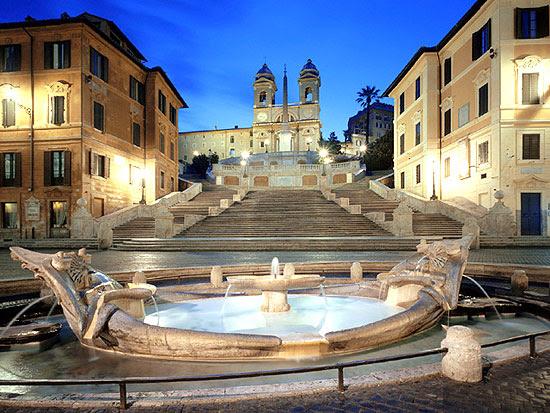 Πιάτσα της Ισπανίας - Piazza di Spagna