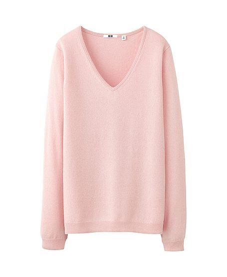 Uniqlo V-Neck Cashmere Sweater