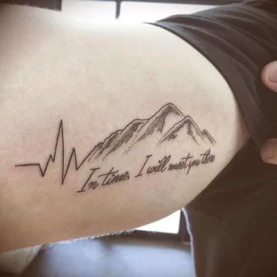 Heartbeat Tattoos For Men Ideas And Inspiration For Guys