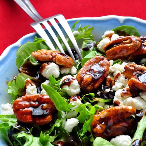 Simple Salad w Fork