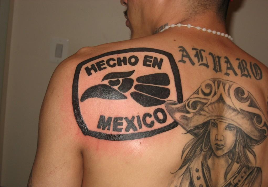 Hecho On Mexican Tattoos