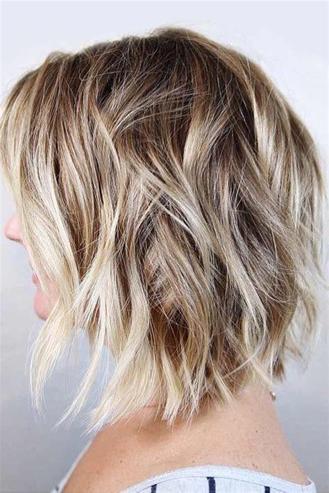 chic medium length layered hair lovehairstylescom