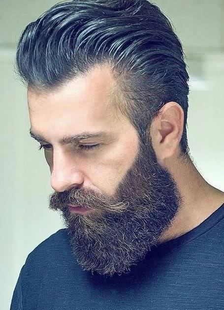 Hermoso peinados hacia atras hombre Galería de cortes de pelo tutoriales - Peinado Hombre Pelo Largo Hacia Atras
