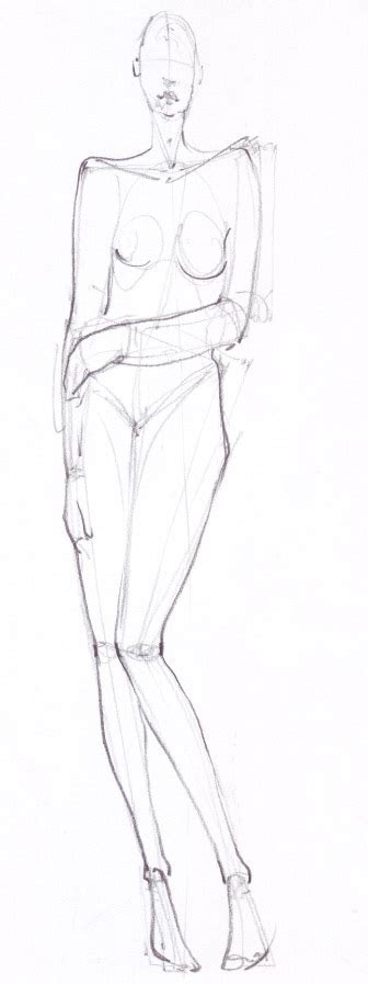 learn   draw  simple fashion poses