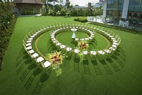 Five Star Outdoor Courtyard Wedding Venues   SingaporeBrides