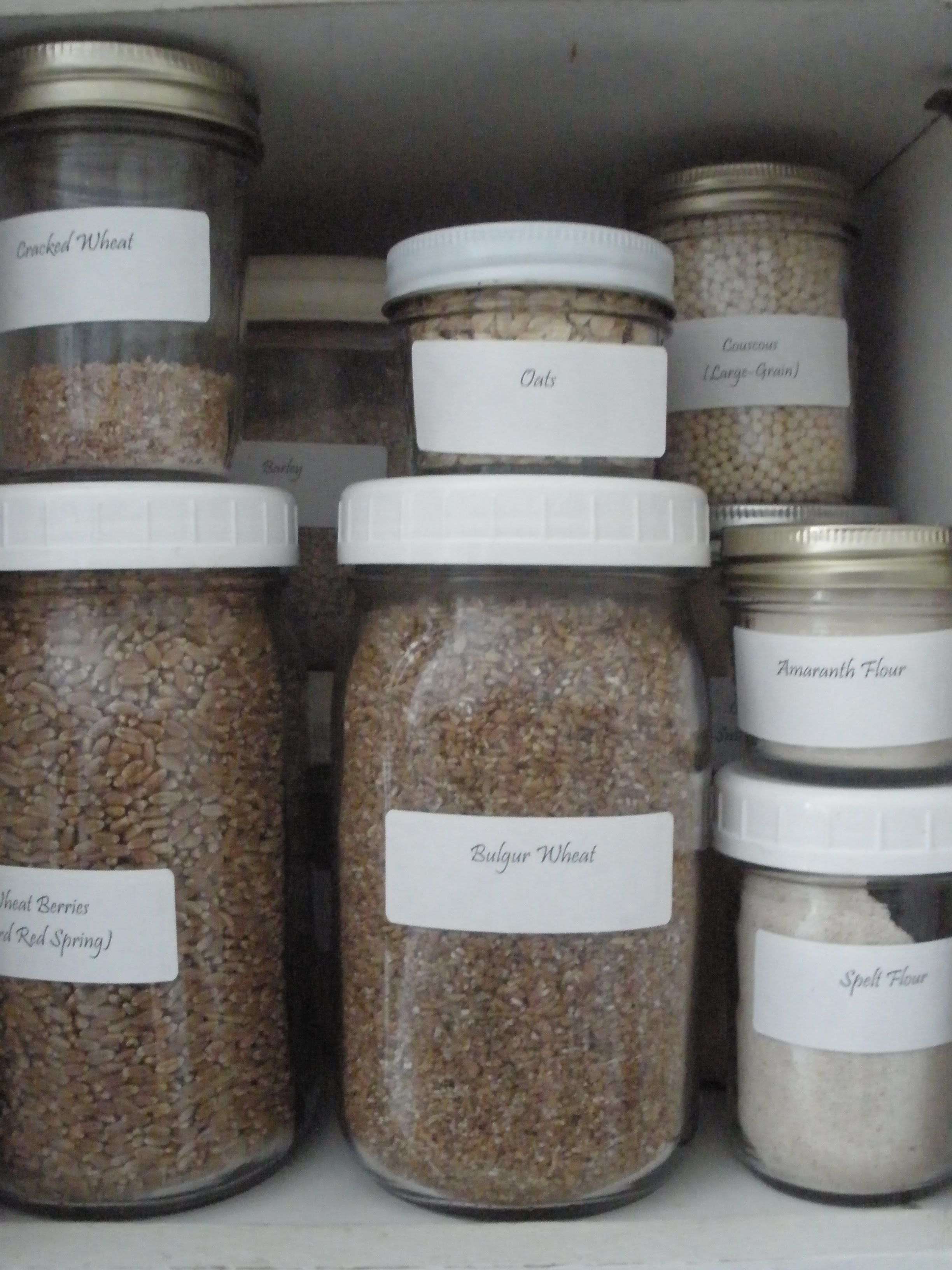 Wheat Berries and Flours