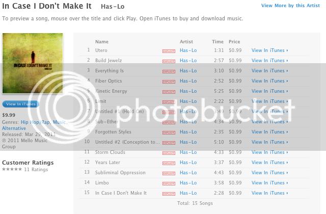 Has-Lo iTunes