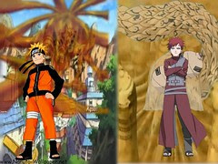 Naruto and gaara