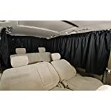 BONFORM ( ボンフォーム ) 車用カーテン 車中泊 シャットカーテン リヤ5点 7901-04BK