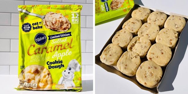 Pillsbury's New Salted Caramel Apple Cookie Dough Will Give You All The Fall Vibes
