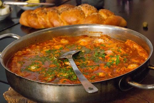 Shakshouka for breakfast @ Cordelia (chef Nir Zook), Jaffa, Israel