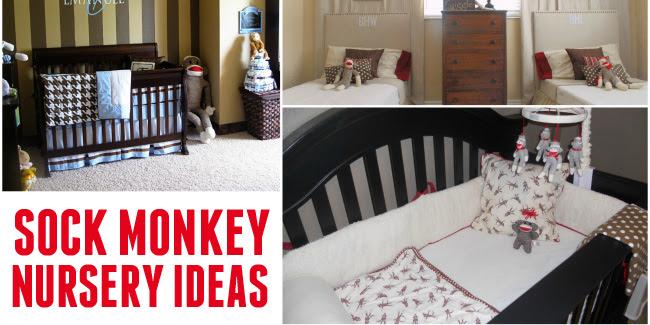 Sock Monkey Nursery Ideas - Design Dazzle