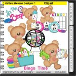 Bingo Time Clipart - CU