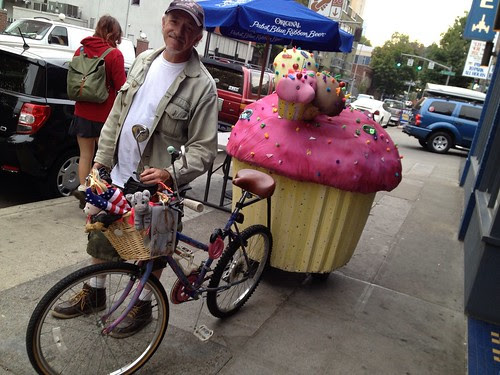 Cupcake Bicycle