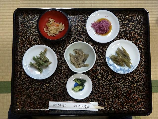 Breakfast at Haguro-san