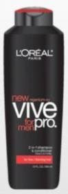 Discount L'Oreal Paris Vive Pro for Men Daily Thickening Shampoo, Fine/Thinning Hair, 13-Fluid Ounce