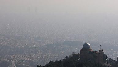 Vista de Barcelona des del Tibidabo. GUILLERMO MOLINER