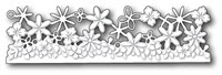 1421 Confetti Floral Border craft die
