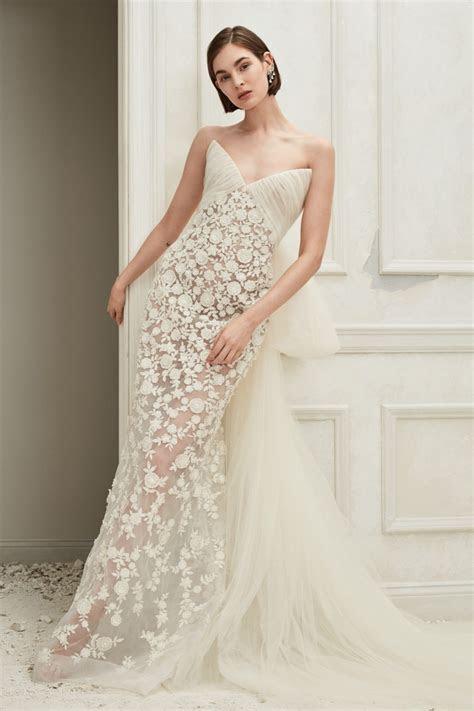 Oscar de la Renta Bridal Fall 2019 Dresses   Fashion Gone