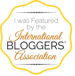 I was Featured by the International Bloggers Association