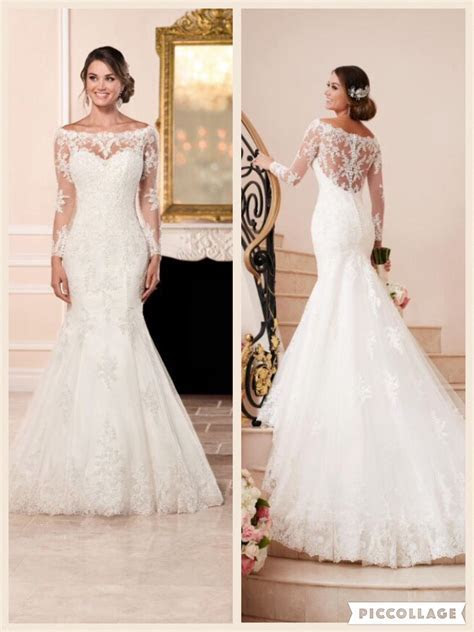 Simone by Stella York. 6353 Fit and flare off the shoulder