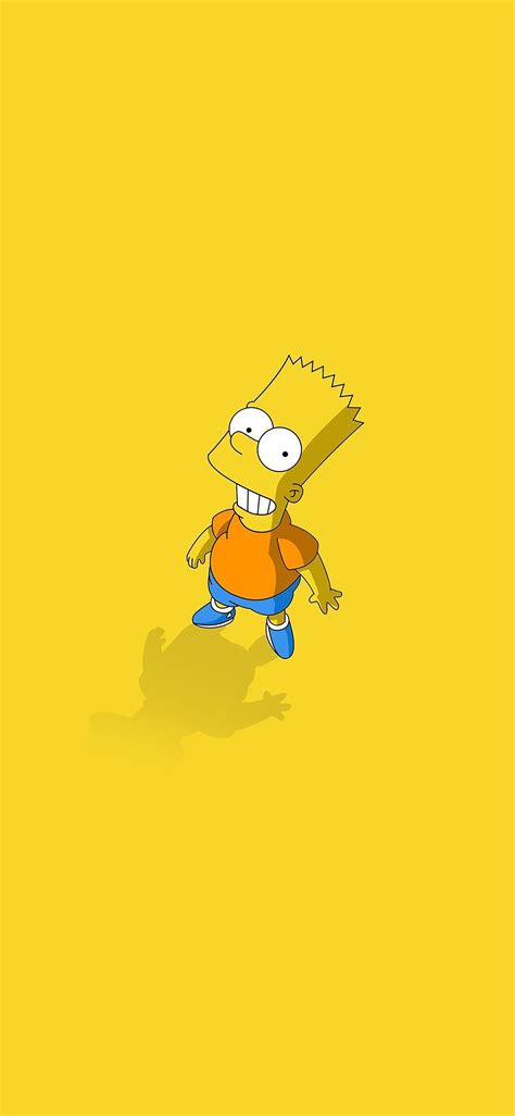 af    bart simpsons minimal cartoon papersco