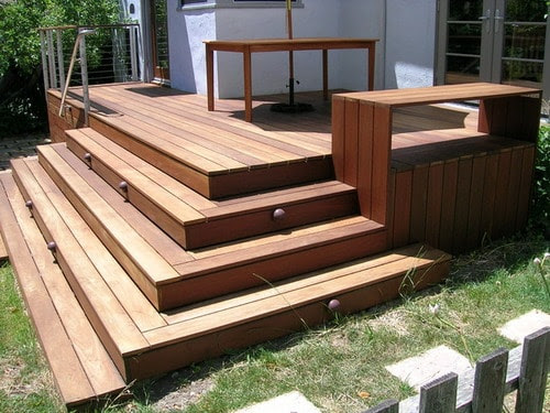 Simple Advices to Help You Building Deck Stairs - Home ...