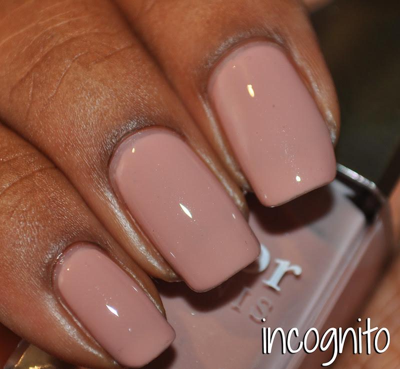 rosy pink nude nail polish