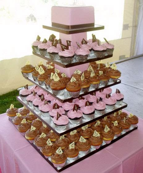 bride.ca   Wedding Cupcakes 101: Cupcake Wedding Cake Ideas
