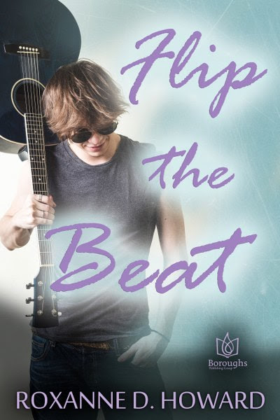 Book Cover for contemporary romantic comedy Flip the Beat by Roxanne D. Howard.