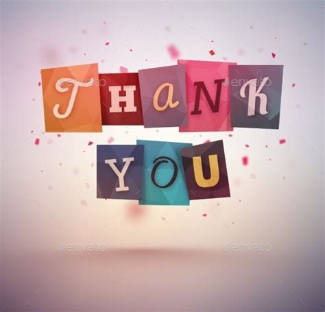 20  Thank You Banner Designs   PSD, Vector EPS, JPG