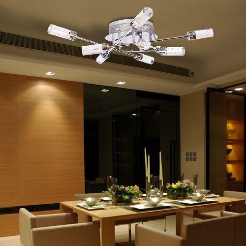 Lu-Mi® LED Deckenleuchte Pendelleuchte Höhenverstellbar ...