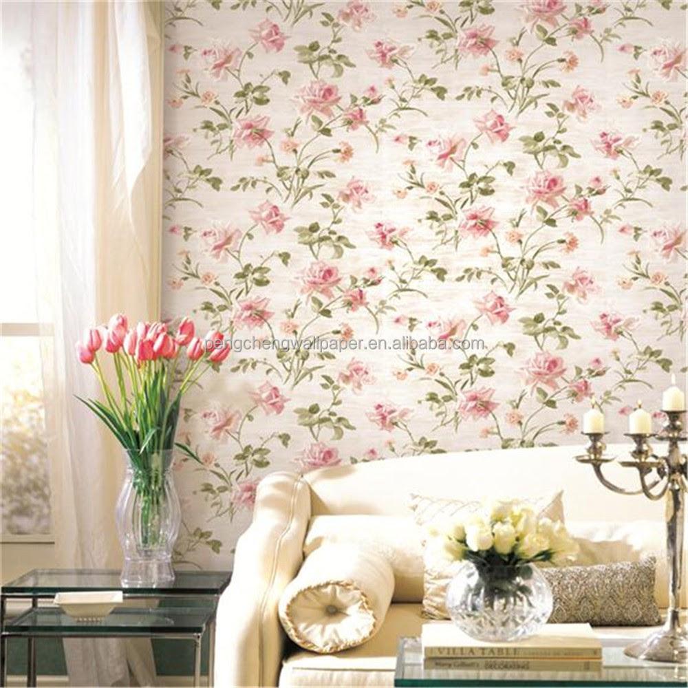 Wallpaper Dinding Kamar Bunga Pink – WallpaperShit