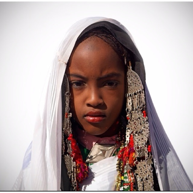 Tuareg child