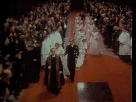 The royal wedding of HRH princess Elizabeth and Lieutenant